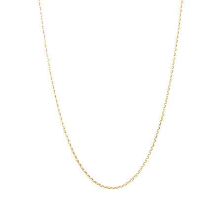 """45cm (18"""") Rolo Chain in 18kt Yellow Gold"""