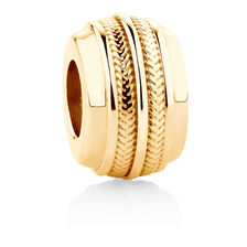 Barrel Charm in 10kt Yellow Gold