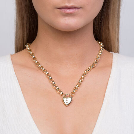 """45cm (18"""") Rolo Chain in 10kt Yellow Gold"""