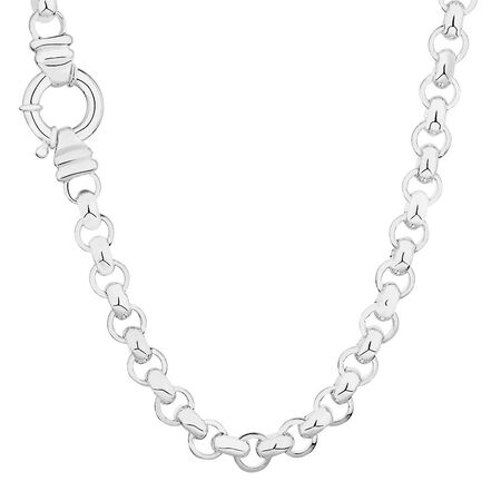 "50cm (20"") Rolo Chain in Sterling Silver"