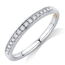 band bands stackable wedding ring of diamonds rings gold diamond white