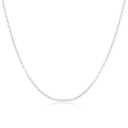 "70cm (28"") Rolo Chain in Sterling Silver"