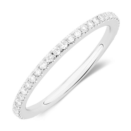 Sir Michael Hill Designer GrandAllegro Wedding Band with 0.31 Carat TW of Diamonds in 14kt White Gold