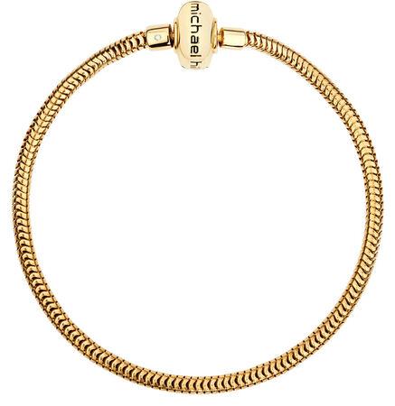 Diamond Set & 10kt Yellow Gold Charm Bracelet