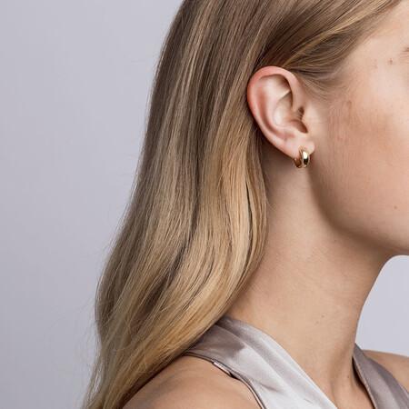 Huggie Earrings in 10kt Yellow Gold