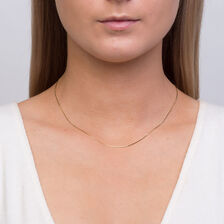 "40cm (16"") Snake Chain in 10kt Yellow Gold"