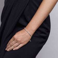 Adjustable Singapore Twist Bracelet in Sterling Silver