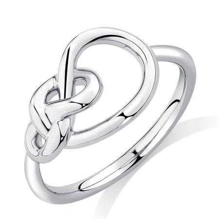 Knots Ring in Sterling Silver