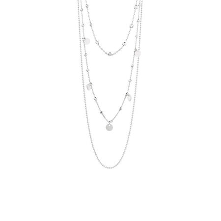 Fancy Layered Chain In Sterling Silver