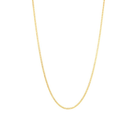 """50cm (20"""") Adjustable Chain in 10kt Yellow Gold"""
