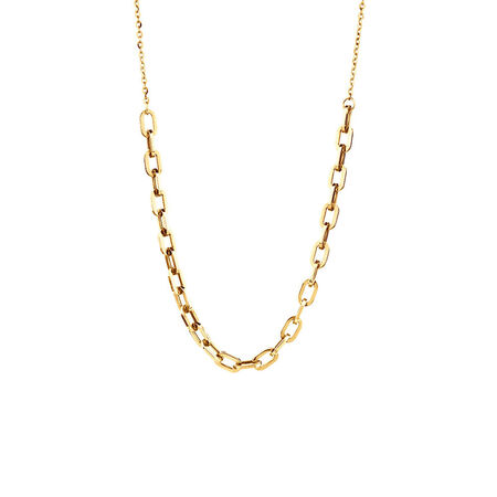 Adjustable Necklace In 10kt Yellow Gold