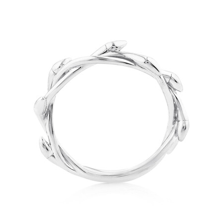 Willow Ring In Sterling Silver