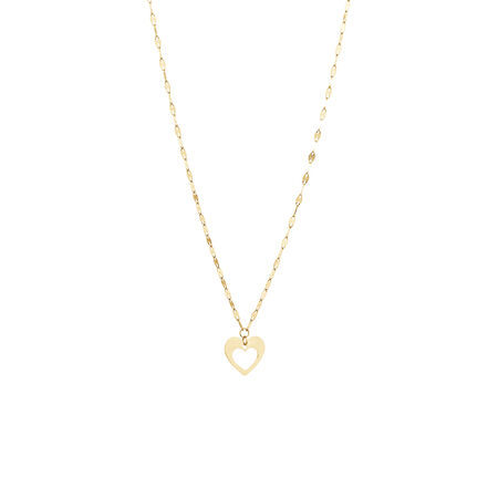 Fancy Necklace in 10kt Yellow Gold