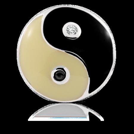 Sterling Silver Yin Yang Charm
