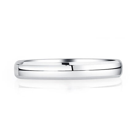 Wedding Band in 14kt White Gold
