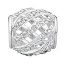 0.28 Carat TW Diamond Weave Charm