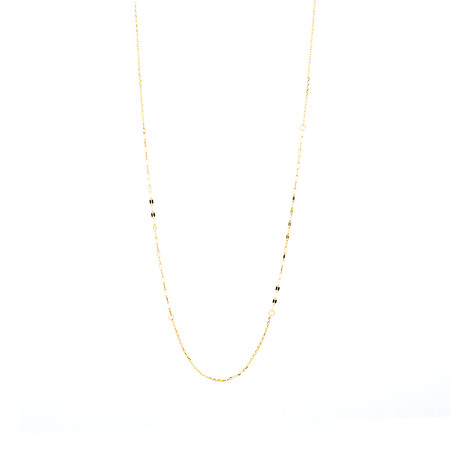 "45cm (18"") Mirror Chain in 10kt Yellow Gold"
