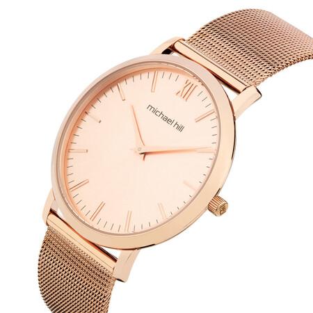 Ladies Mesh Bracelet Watch in Stainless Steel