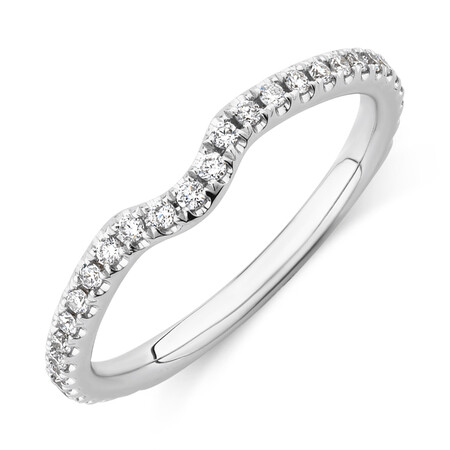 Sir Michael Hill Designer Wedding Band with 0.21 TW of Diamonds