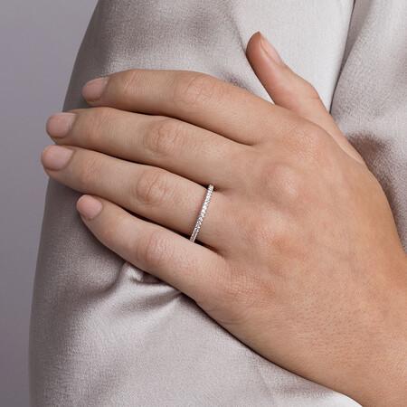 Sir Michael Hill Designer GrandAllegro Wedding Band with 0.31 Carat TW of Diamonds in 14kt White Gold