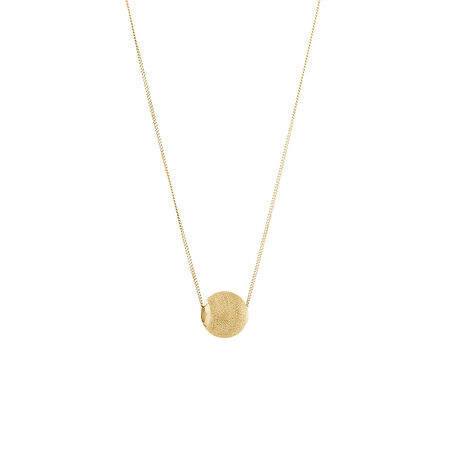 Stardust Bead Pendant in 10kt Yellow Gold
