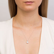 Michael Hill Designer Arpeggio Pendant with 1/2 Carat TW of Diamonds in 14kt White & Rose Gold
