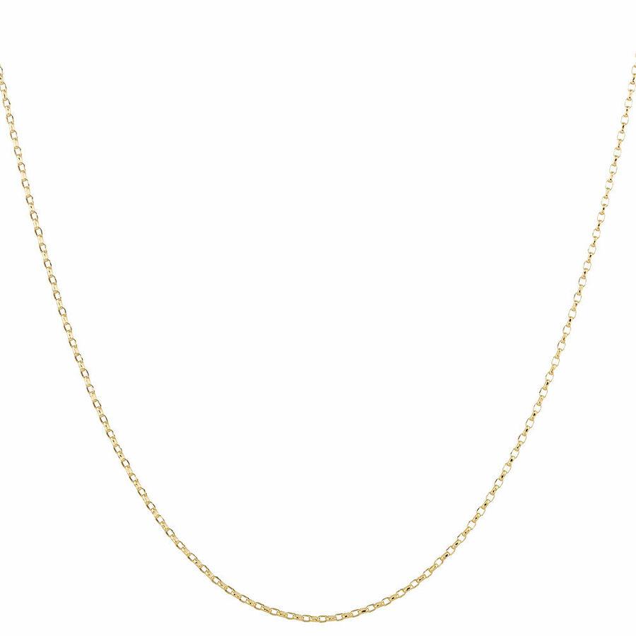 "45cm (18"") Solid Belcher Chain in 10kt Yellow Gold"