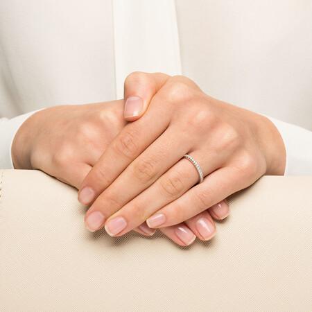 Sir Michael Hill Designer GrandAllegro Wedding Band with 0.40 Carat TW of Diamonds in 14kt White Gold