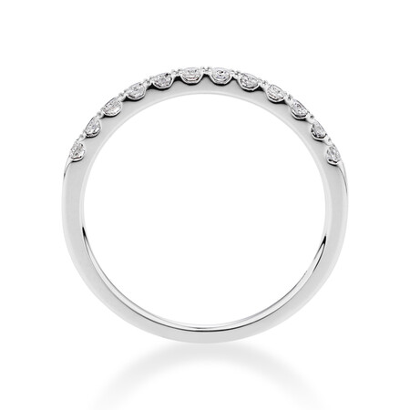 Prelude Wedding Band with 0.25 Carat TW of Diamonds in 14kt White Gold