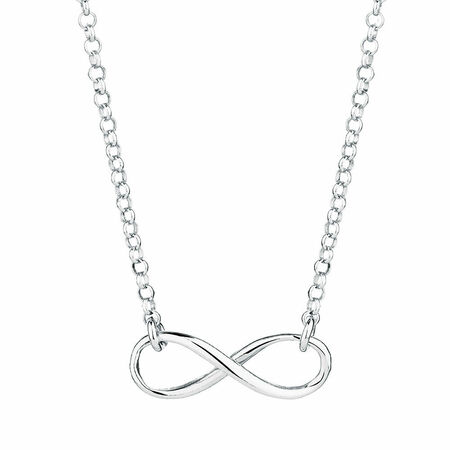 Infinity Necklace  Necklace  Silver Infinity Necklace  Delicate Necklace