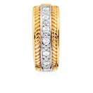 Diamond Set & 10kt Yellow Gold Stopper