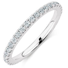 Sir Michael Hill Designer GrandAria Wedding Band with 1/2 Carat TW of Diamonds in 14kt White Gold
