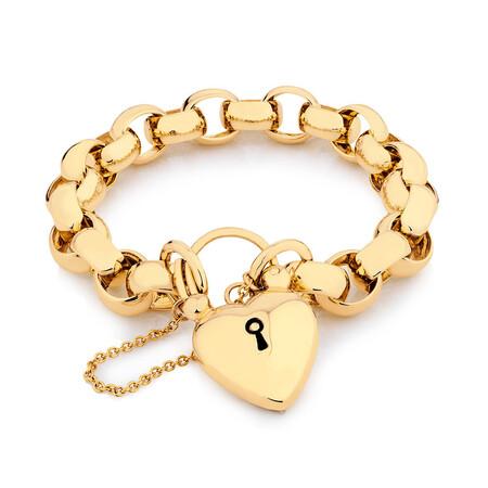 Belcher Bracelet in 10kt Yellow Gold