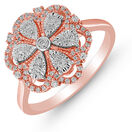 Ring with 0.25 Carat TW of Diamonds in 10kt Rose Gold