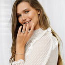 Tennis Bracelet with 1 Carat TW of Diamonds in 10kt White Gold