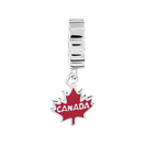 Sterling Silver Canada Maple Leaf Charm