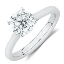 Southern Star Solitaire Engagement Ring with 1.5 Carat TW Diamond in 14kt White Gold