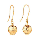 Charm Earring Set in 10kt Yellow Gold