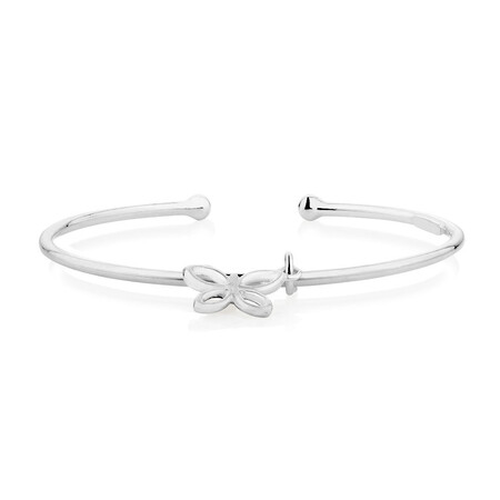 Child's Butterfly Cuff in Sterling Silver