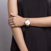 Ladies Slimline Watch in Gold Tone Stainless Steel