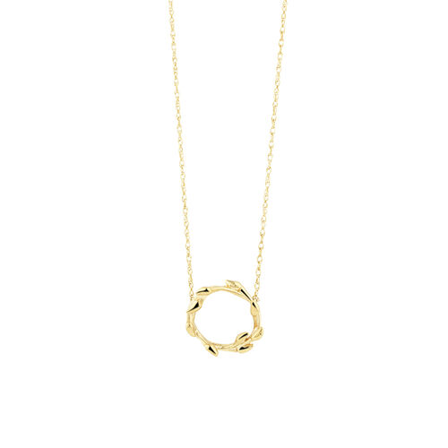 Willow Necklace In 10kt Yellow Gold