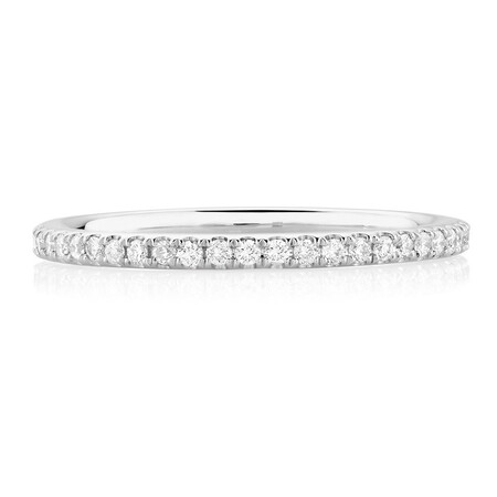 Sir Michael Hill Designer GrandAria Wedding Band with 0.31 Carat TW of Diamonds in 14kt White Gold