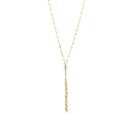 Tassel Necklace in 14kt Yellow Gold