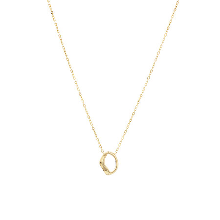 Mini Spirits Bay Necklace In 10kt Yellow Gold