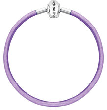 """Purple Triple Wrap Leather 57cm (22"""") Charm Bracelet"""