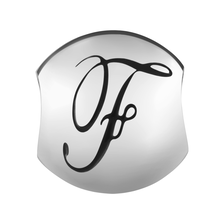 Sterling Silver 'F' Charm