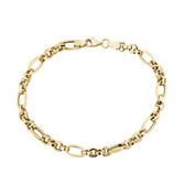"19cm (7.5"") Hollow Bracelet in 10kt Yellow Gold"