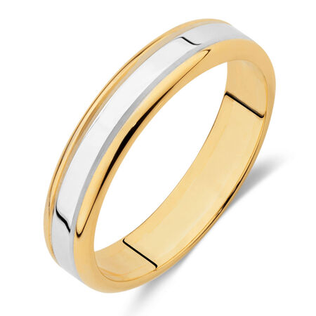 Wedding Band in 10ct Gold