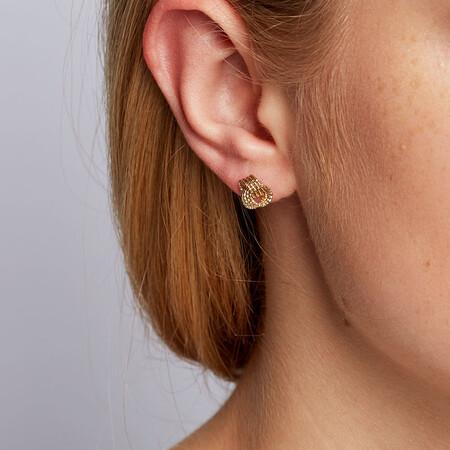 Stud Earrings in 10kt Yellow Gold