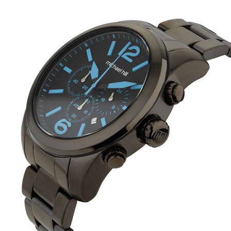 Men's Watch in Black PVD Plated Stainless Steel
